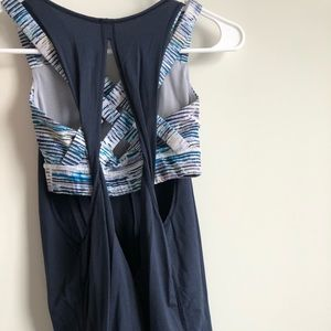 lululemon athletica Tops - Lululemon backless tank with attached bra